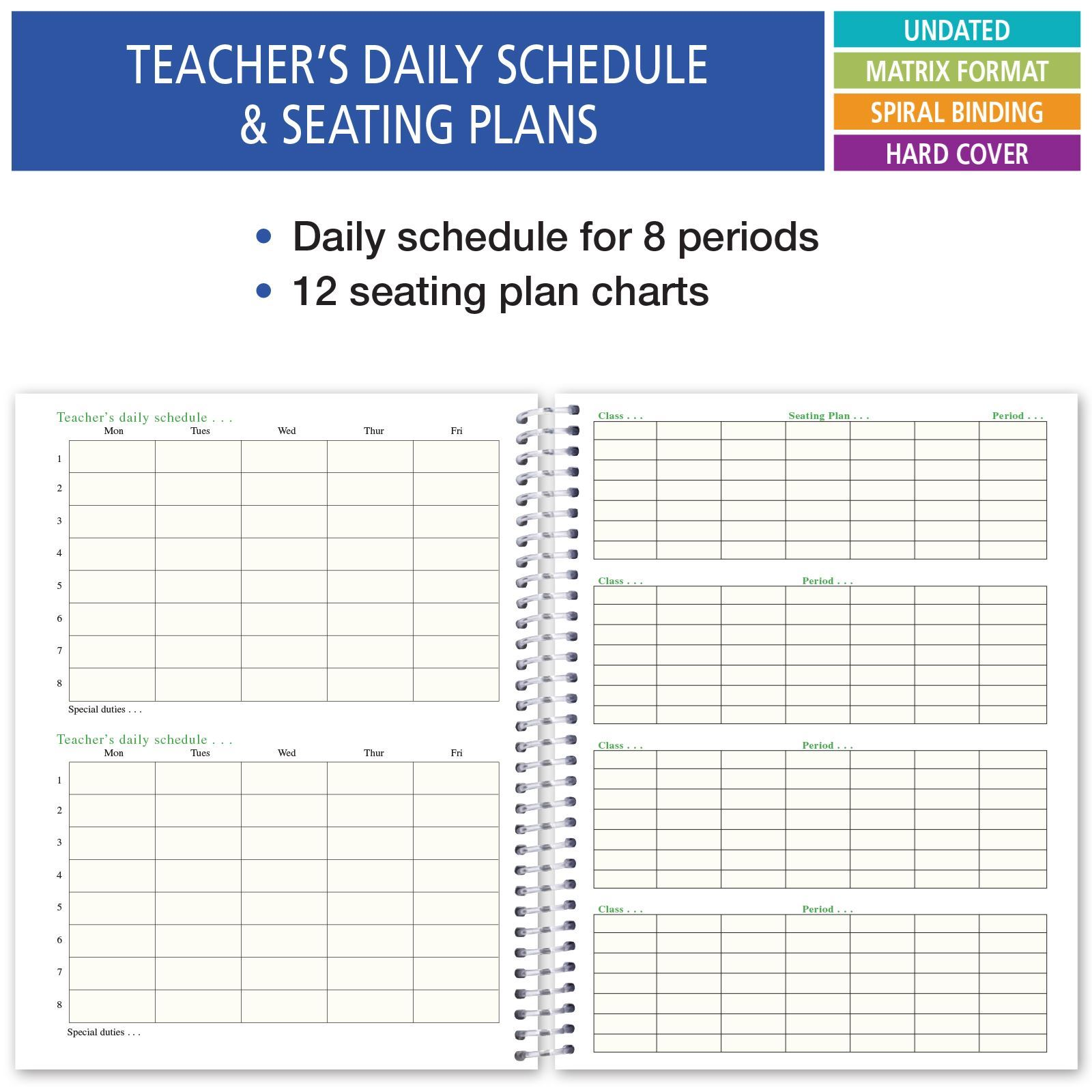 Picture of HARDCOVER 6 Period Teacher Lesson Plan