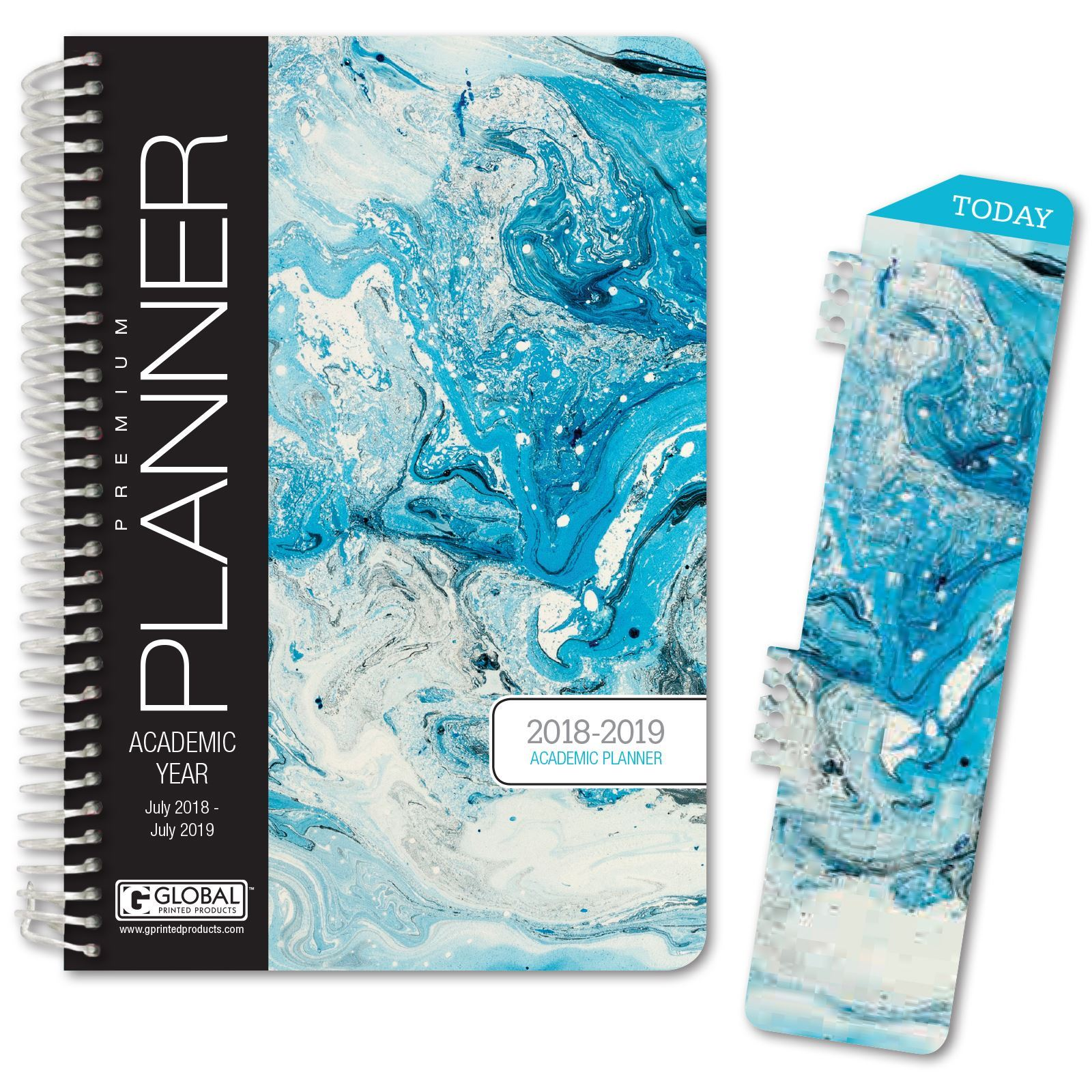 Picture of HARDCOVER Academic Year Planner 2018-2019 (Blue Marble)