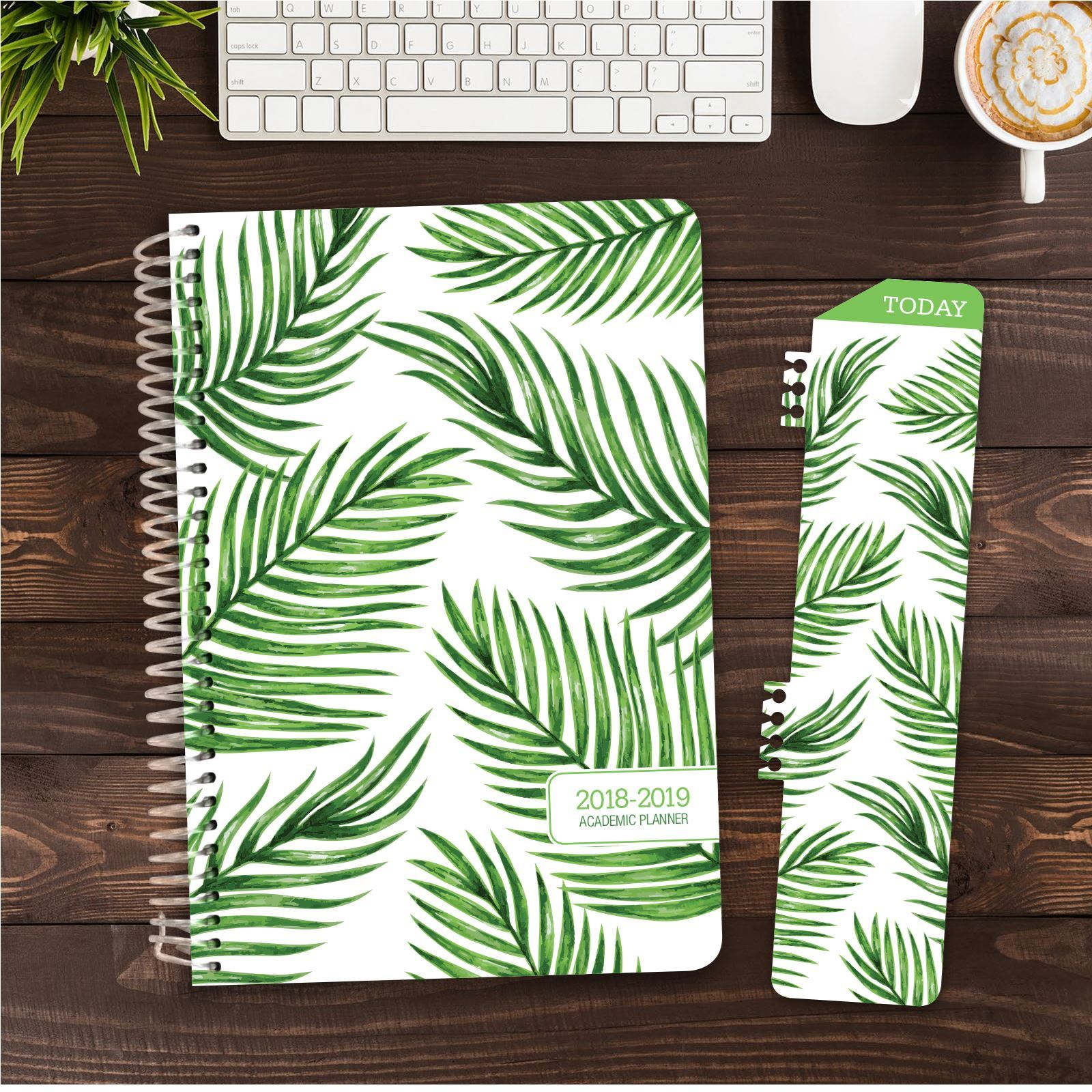 Picture of HARDCOVER Academic Year Planner 2018-2019 (Palm Tree)