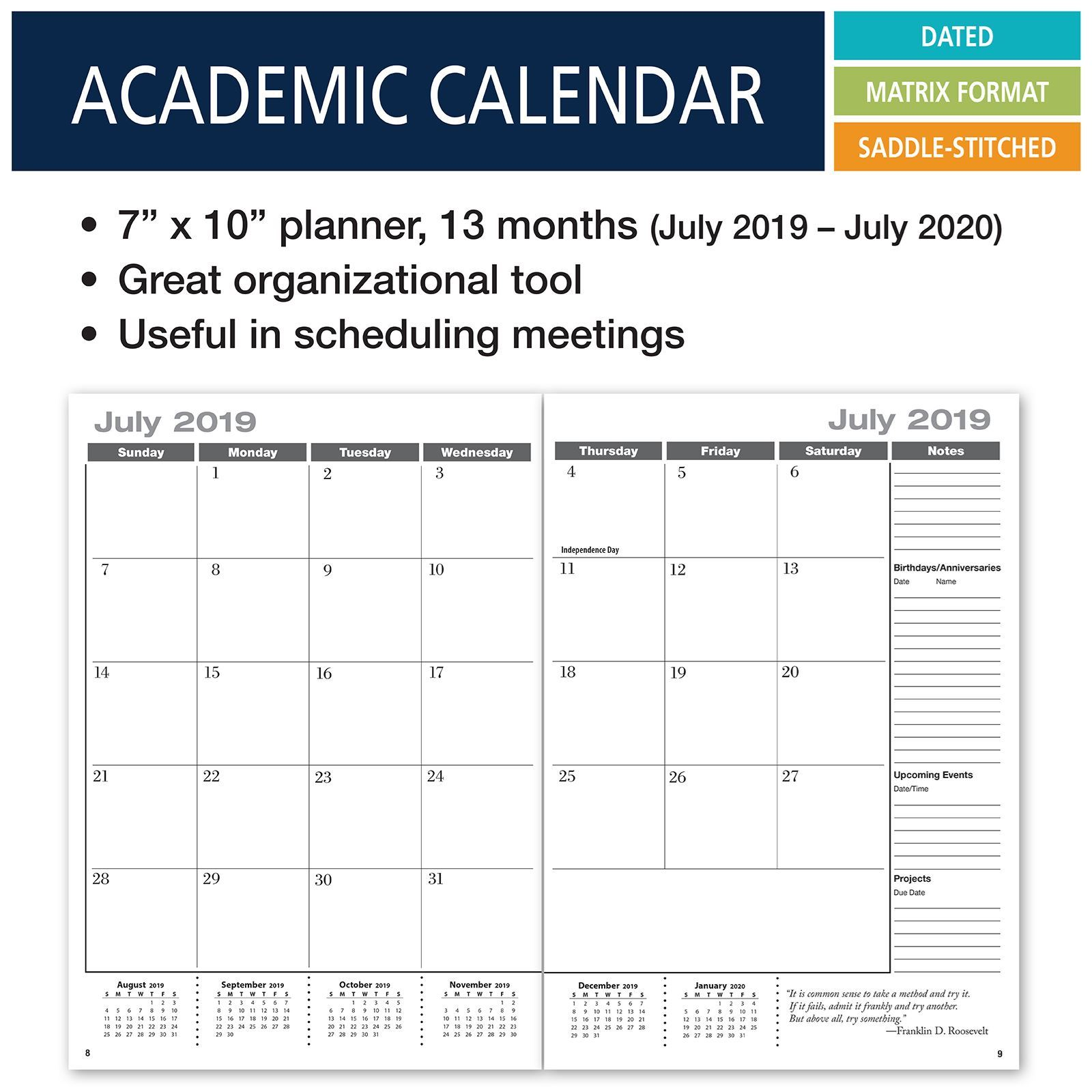 Picture of Academic Calendar